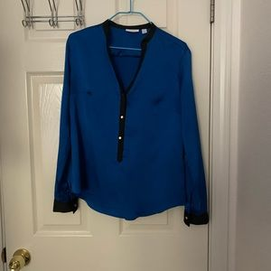 NY&C Royal Blue Blouse